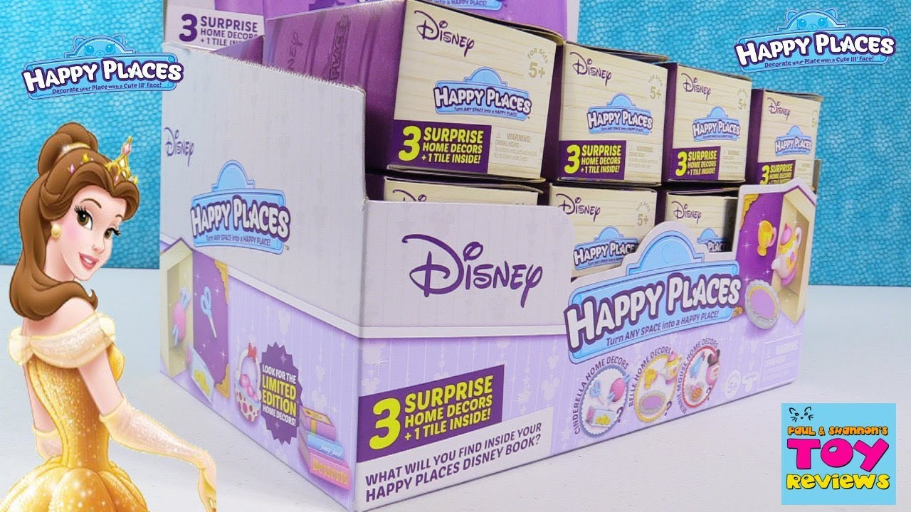 Disney Happy Places Full Box Surprise Limited Edition Hunt ...