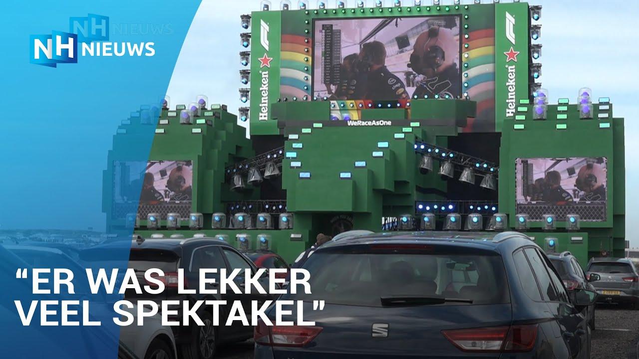 Eerste F1-wedstrijd ingeluid met drive-in-show op circuit Zandvoort