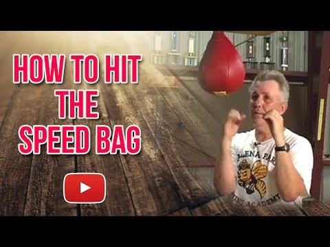 Becoming a Better Boxer - How to Hit the Speed Bag - Kenny Weldon