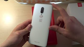Unboxing OnePlus 6 Silk White Limited Edition! (Español)