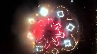 FERIA TLAUNILOLPAN HIDALGO 25/07/2014 La quema del castillo
