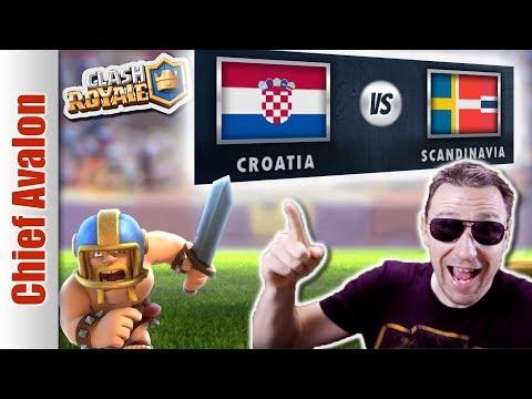 MGL WORLDS:  CROATIA vs SCANDINAVIA - Clash Royale eSports