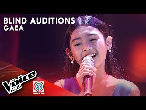 Ngayon at Kailanman by Gaea Salipot  The Voice Kids Philippines Blind Auditions 2019
