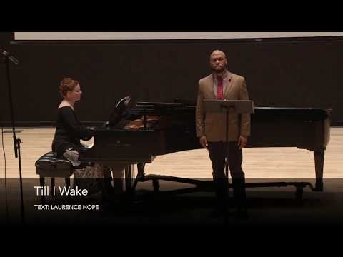 Till I Wake by H. T. Burleigh - Roderick George, tenor