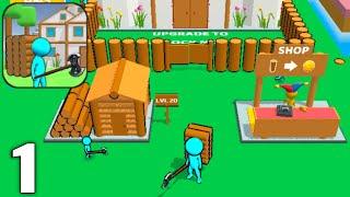 Craftheim - Lumberjack Island - Gameplay Walkthrough Part 1 All Levels (Android & iOS) screenshot 2