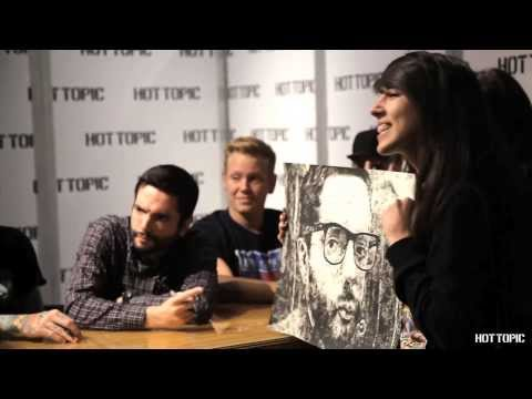 A Day To Remember - In Store Appearance at Hollywood & Highland