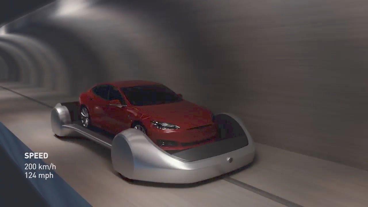 ТРАНСПОРТ БУДУЩЕГО. Футуристические метро Tesla