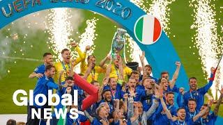Italy defeats England in UEFA Euro 2020 final