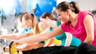 Фитнес тренировка для проблемных зон.