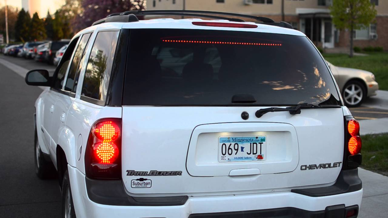 2004 Trailblazer Led Tail Light Retrofit