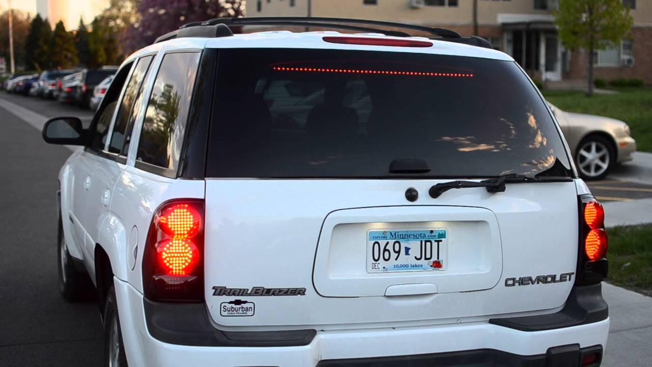 2004 Trailblazer LED tail light retrofit  YouTube