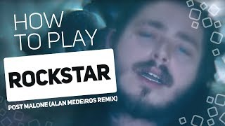 Rockstar - Post Malone (Alan Medeiros REMIX) | SUPER PADS KIT PARTY REMIX