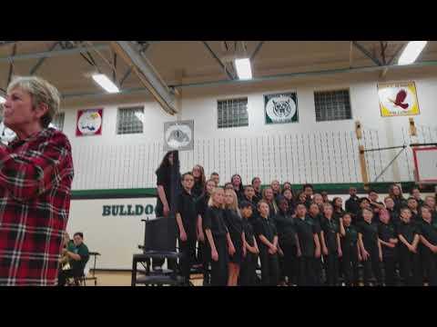 Aux Sable Middle School 6th Grade Choir Winter Concert Full Program