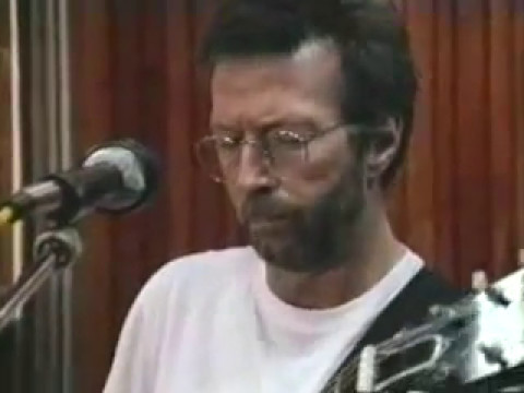 "Eric Clapton ""From The Cradle"" Studio Interview #2"