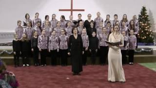 Старший хор музыкальной школы им. Андреева. Рождественский концерт в церкви Святой Екатерины.