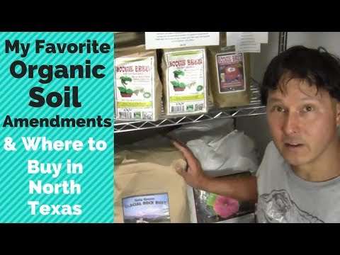 My Favorite Organic Gardening Soil Amendments & Where to Buy in North Texas