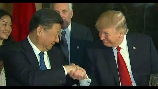 President Trump  Welcomes Chinese President Xi Jinping To Mar-A-Lago