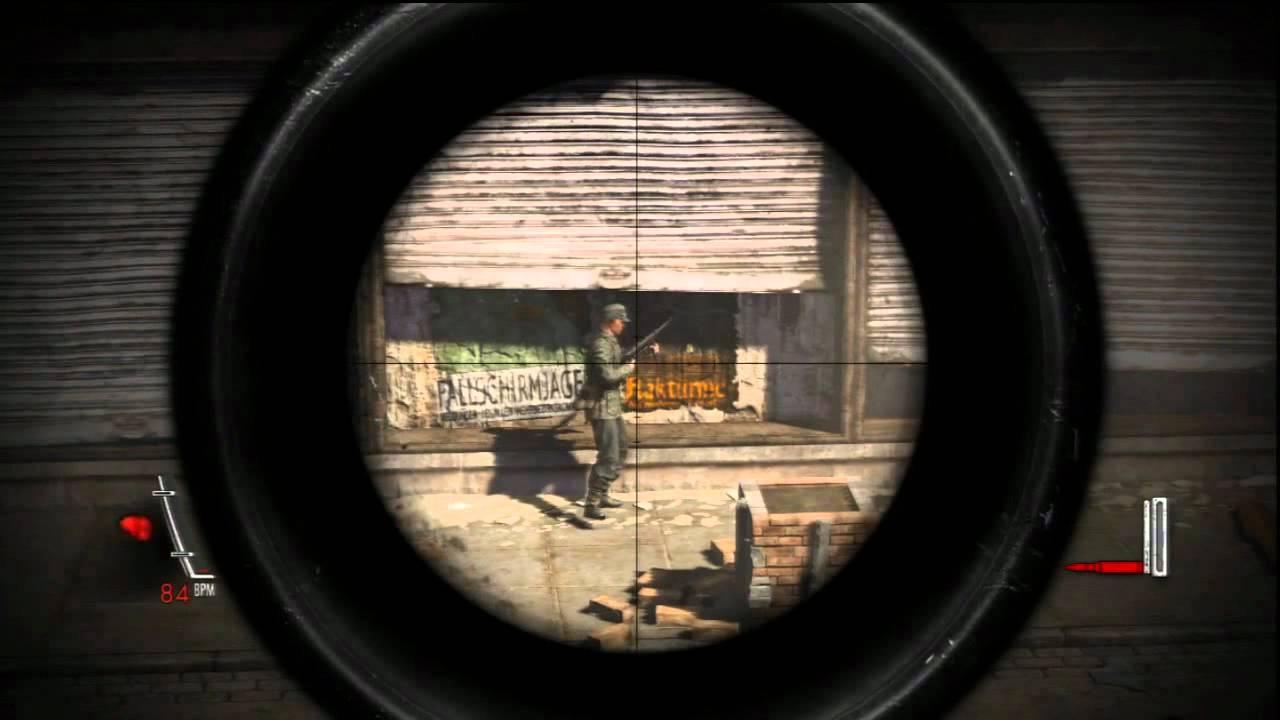 Sniper Elite V2 Ps3 Gameplay Demo Youtube