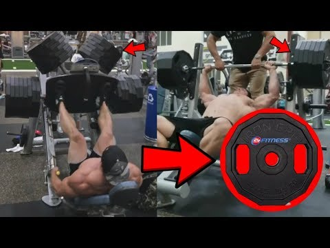 Brad Castleberry Finally Proves he's not using Fake Weights?