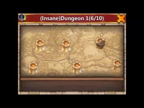 Castle Clash: Insane Dungeon 1