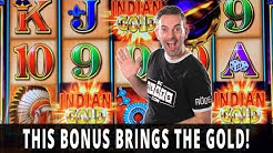 🤑 $20/Spin GOLDEN BONUS 💰 Double Up on INDIAN GOLD