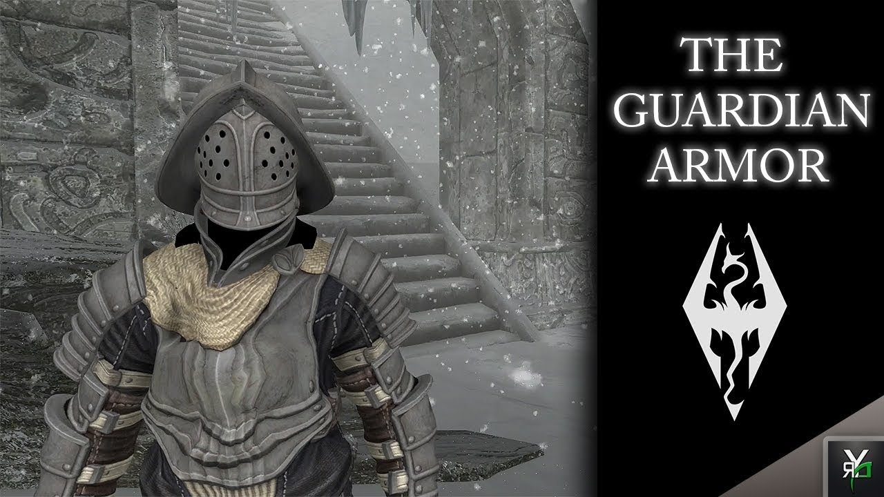 THE GUARDIAN ARMOR!!- Xbox Modded Skyrim Mod Showcase