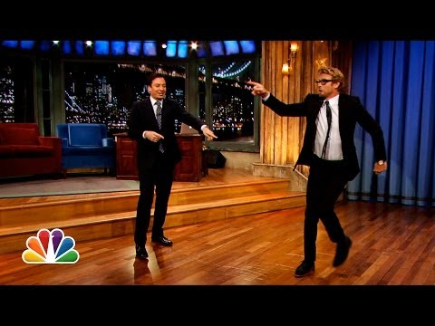 Thumbnail: Simon Baker and Jimmy Fallon's Mick-Off (Late Night with Jimmy Fallon)
