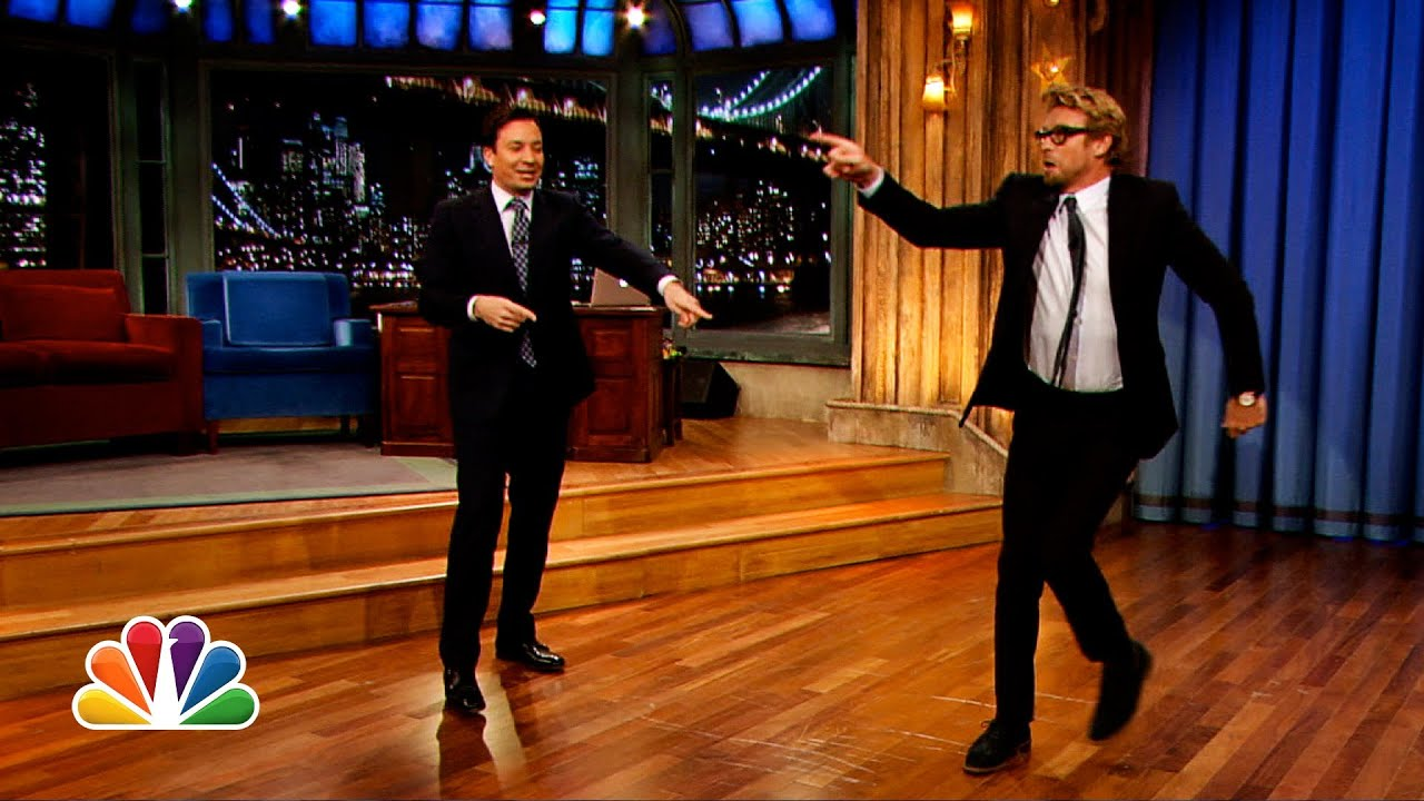 Simon Baker and Jimmy Fallon's Mick-Off (Late Night with ... Benedict Cumberbatch Movies