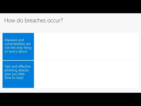 Next-gen preventative protection with Windows Defender Advanced Threat Protection - BRK2072