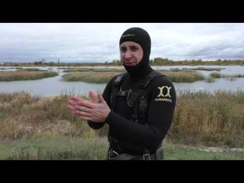 Подводная охота выходного дня ( тест 7мм костюма Marlin на холод )