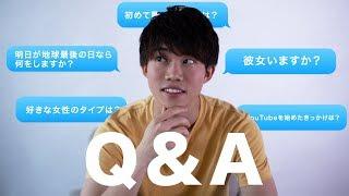 大学生動画クリエーターの質問コーナー。