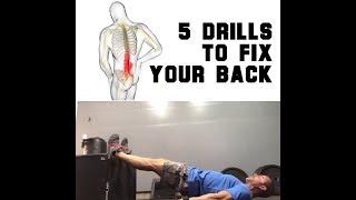 Low Back Pain? DO THIS | SmashweRx | Trevor Bachmeyer