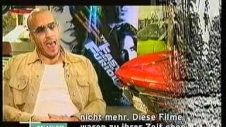 Simon Gosejohann bei Vin Diesel (2001)
