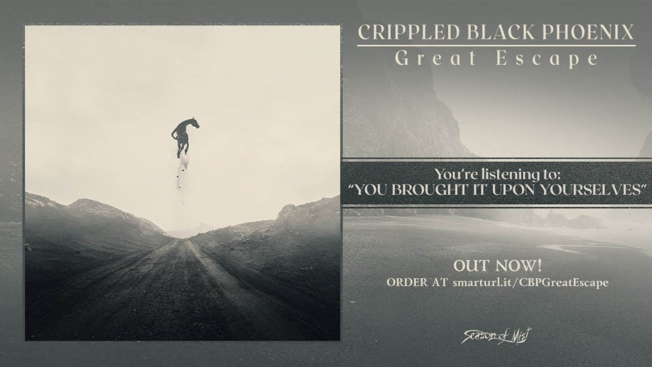 Download Crippled Black Phoenix - Great Escape (2018) Full Album Stream