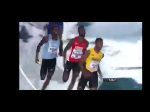 4X400 IAAF Men Final  2017 USA BOTSWANA JAMAICA