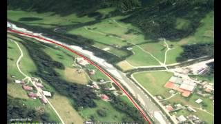 Streckenverlauf Rad-Marathon Tannheimer Tal 2015
