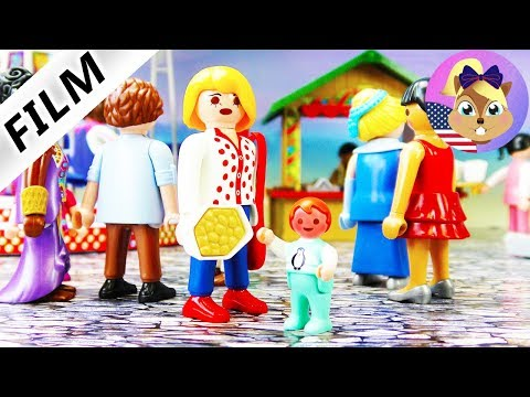 Playmobil Film English | EMMA Smith's almond allergy | Visit to the fair ends horribly - Hospital?!