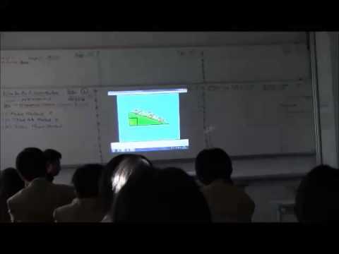 IB-MYP-5 Plus MATHEMATICS Lesson on Pythagras Theorem by Dr N Nagesh