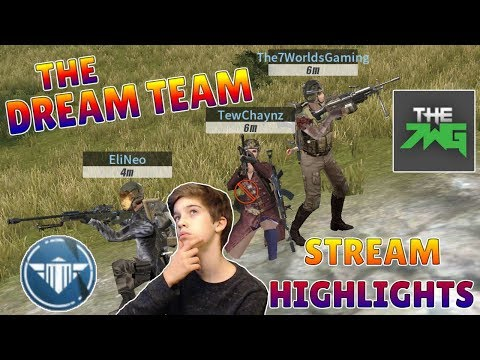 Rules of Survival - STREAM HIGHLIGHTS! Squad with 7WG, Hawks Nest, and TewChaynz!