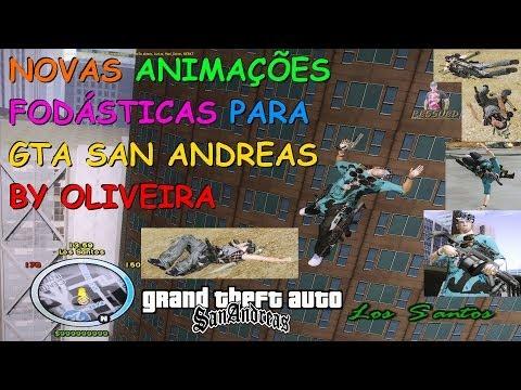 DOWNLOAD NOVAS ANIMAÇÕES FODÁSTICAS 100% COMPLETO PARA GTA SA BY OLIVEIRA FULL HD 1080p