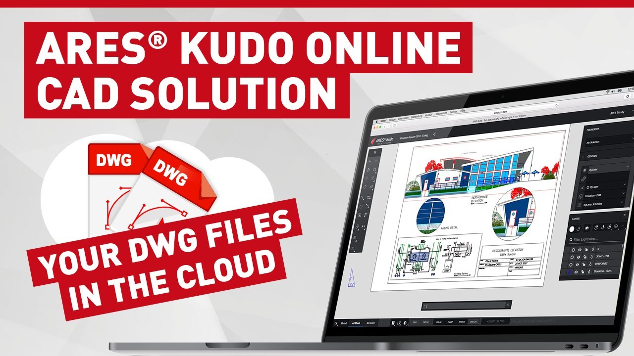Ares Kudo Online Cad Solution Your Files In The Cloud