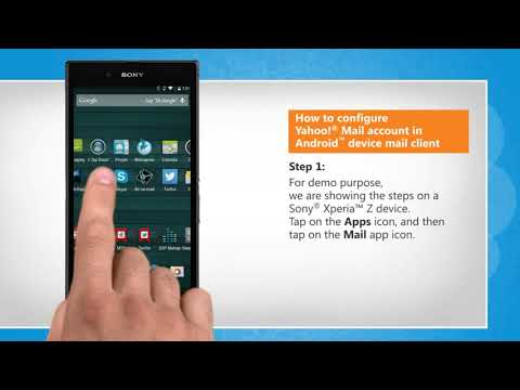 How To Configure Yahoo!® Mail Account In Android™ Device Mail Client