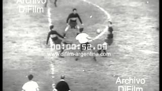 DiFilm - Huracan vs Boca Juniors (1954)