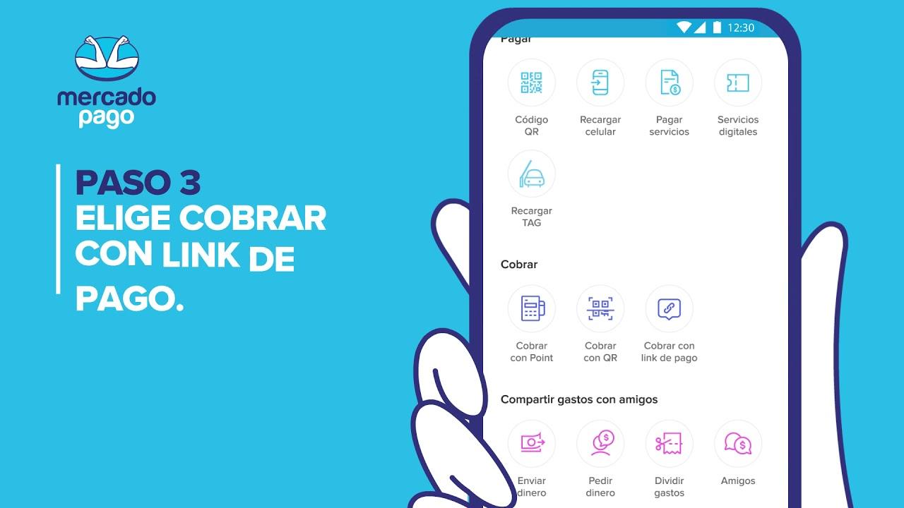 Cómo vender con link de pago - Mercado Pago app - México