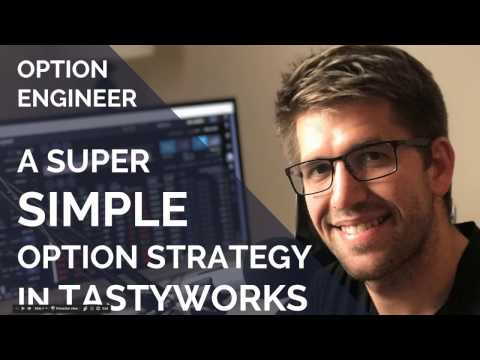 A SUPER SIMPLE options strategy in TASTYWORKS