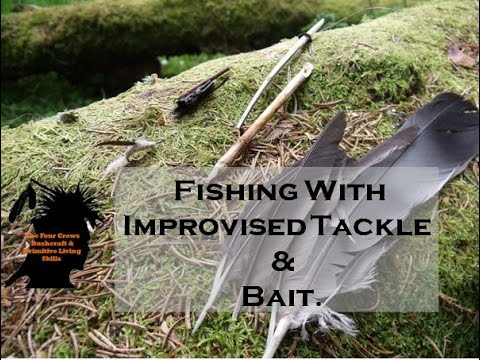 Fishing With Improvised Tackle and Bait.