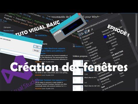[TUTO VB.NET] {CREATION D'UN LOGICIEL} | Ep.1 | Création de plusieurs fenêtres