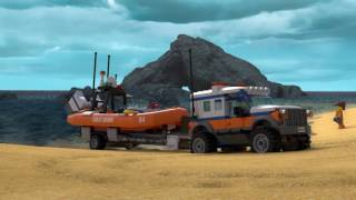 4 x 4 Response Unit  - LEGO City Coast Guard - 60165 - Product Animation