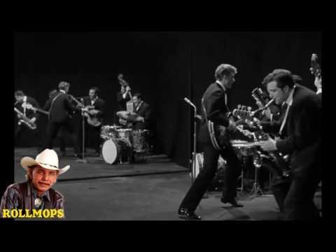 """JOHNNY HALLYDAY & LES CHAUSSETTES NOIRES FILM LES PARISIENNES 1962 """" ROLLMOPS """""""