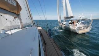 Garcia Exploration 45 and 52 sailing together